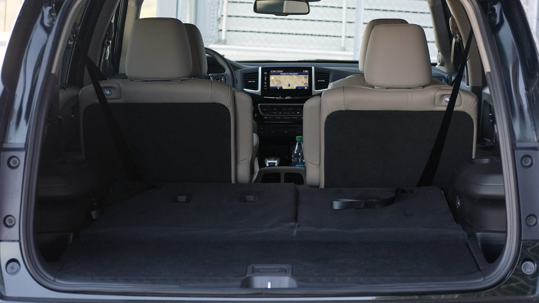 2016 Honda Pilot rear cargo area