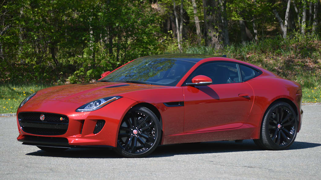 2016 Jaguar F-Type S Coupe red front