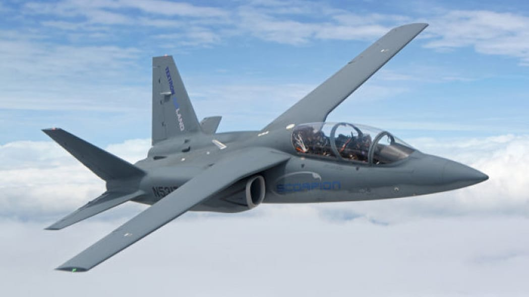 scorpion fighter national guard test