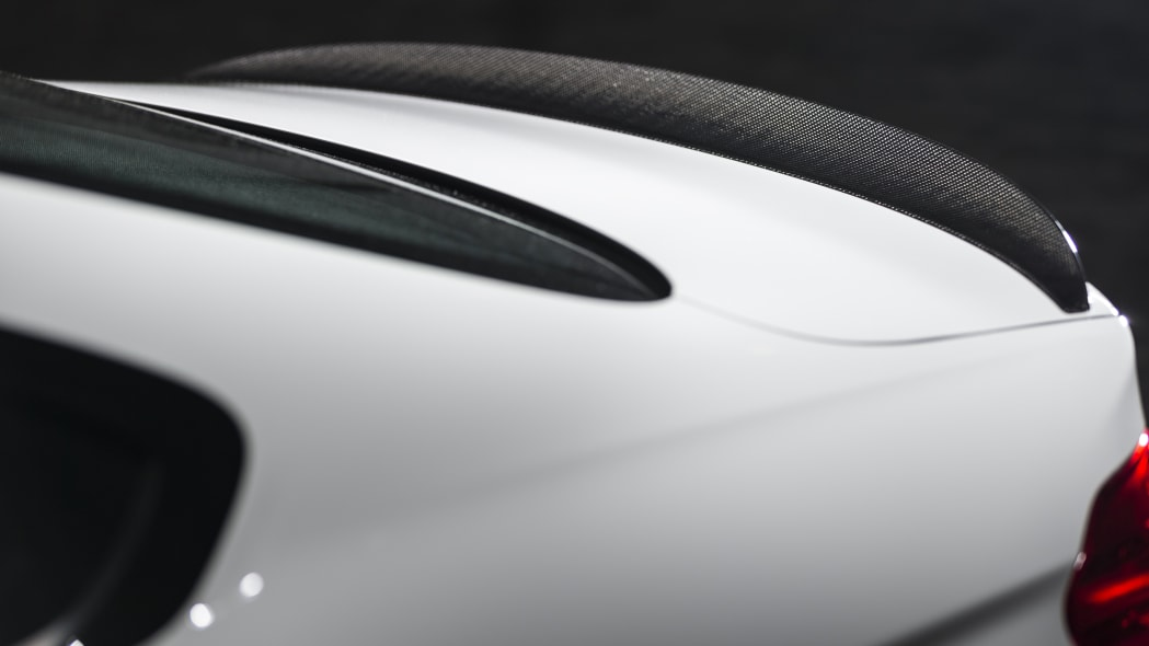 BMW 435i ZHP Edition Coupe trunk spoiler