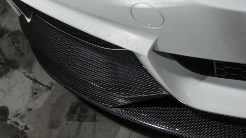 BMW 435i ZHP Edition Coupe front splitter spoiler