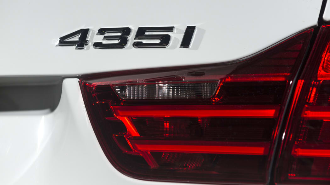 BMW 435i ZHP Edition Coupe badge tail light lamp