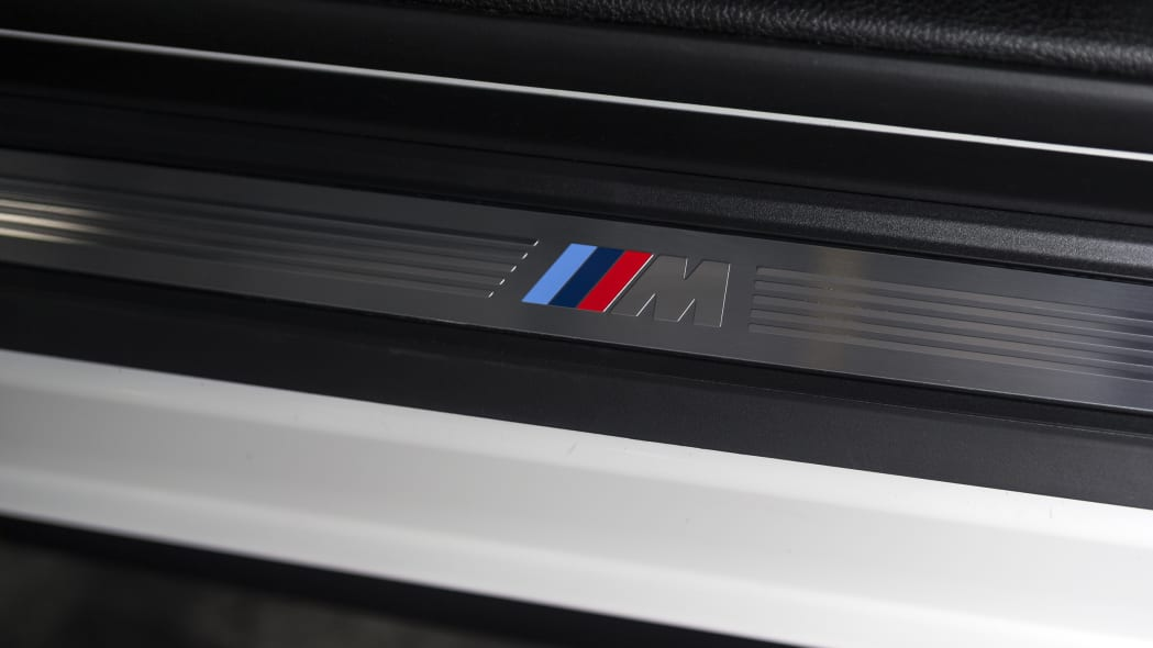 BMW 435i ZHP Edition Coupe interior tread plate