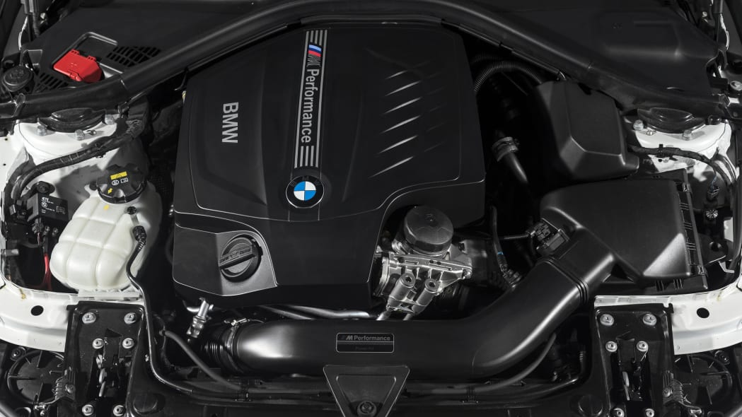 BMW 435i ZHP Edition Coupe engine