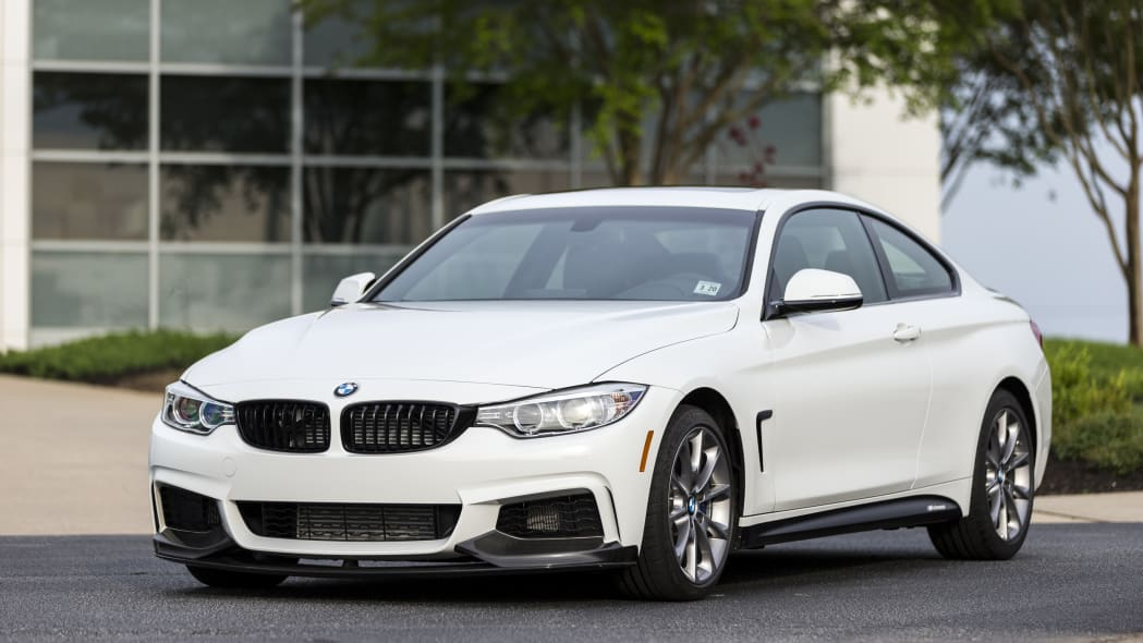 2016 BMW 435i ZHP Edition Coupe front 3/4