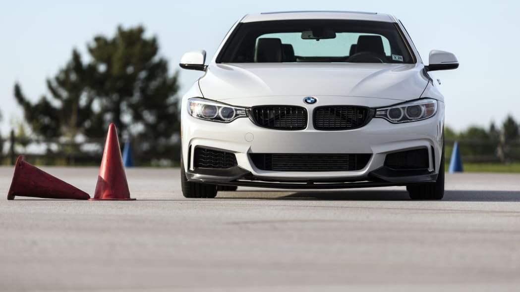 BMW 435i ZHP Edition Coupe front autocross