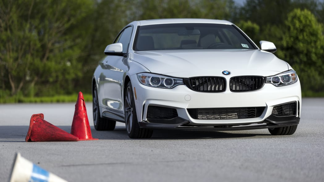 2016 BMW 435i ZHP Edition Coupe front 3/4 track autocross
