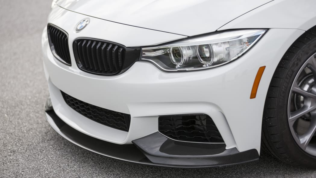 BMW 435i ZHP Edition Coupe front end grille