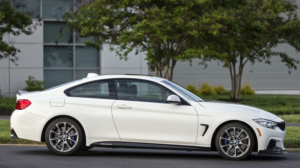 BMW 435i ZHP Edition Coupe side outdoors
