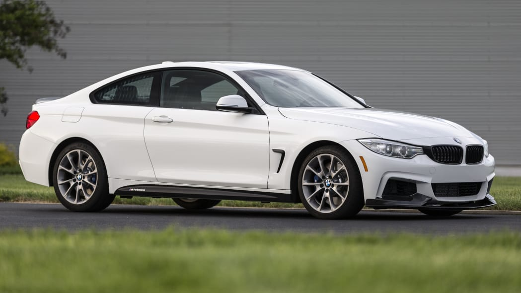BMW 435i ZHP Edition Coupe front 3/4 outdoors
