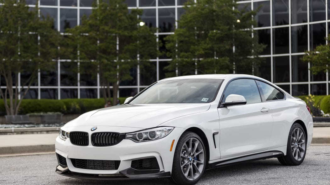 2016 BMW 435i ZHP Edition Coupe front 3/4 outdoors