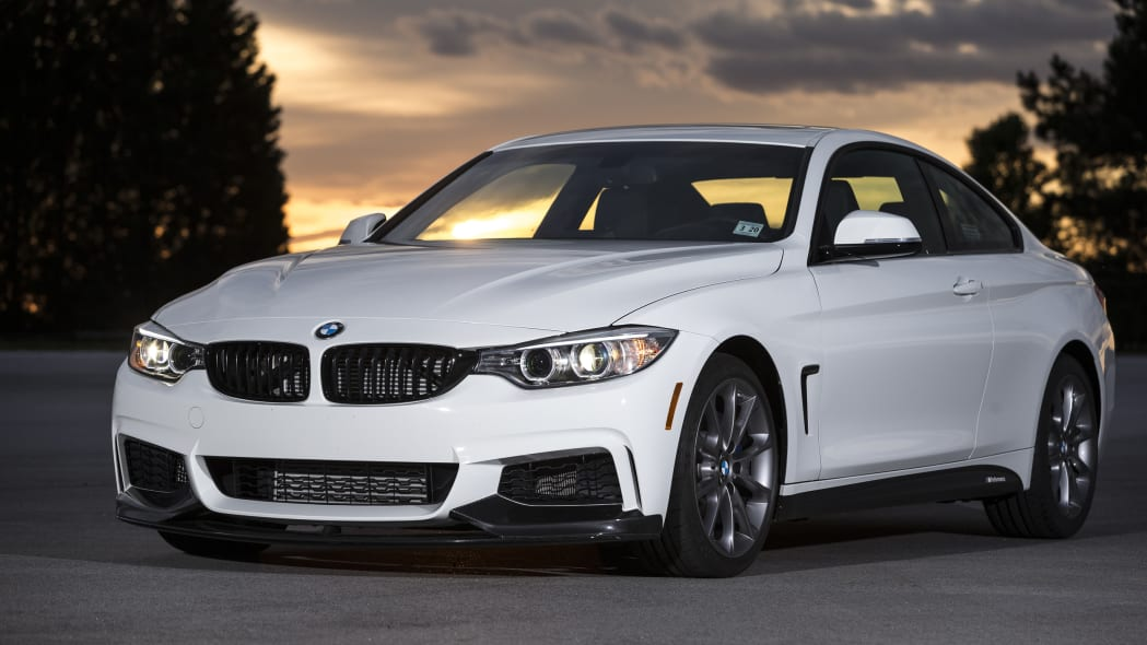 2016 BMW 435i ZHP Edition front 3/4 sunset