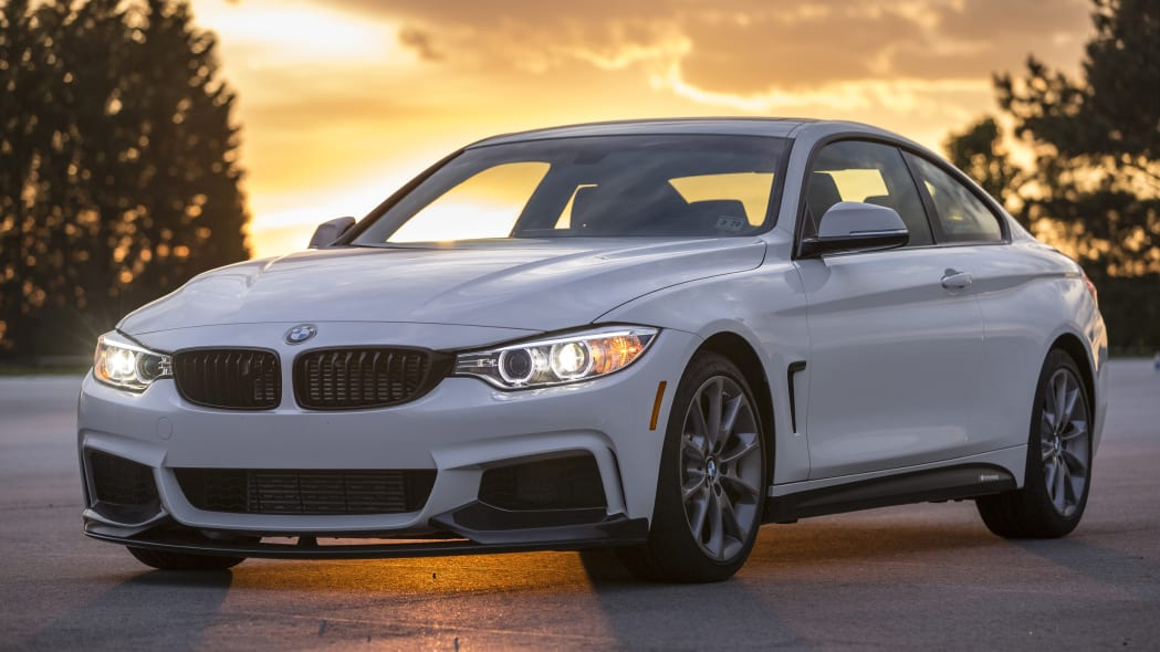 BMW 435i ZHP Edition front 3/4 sunset