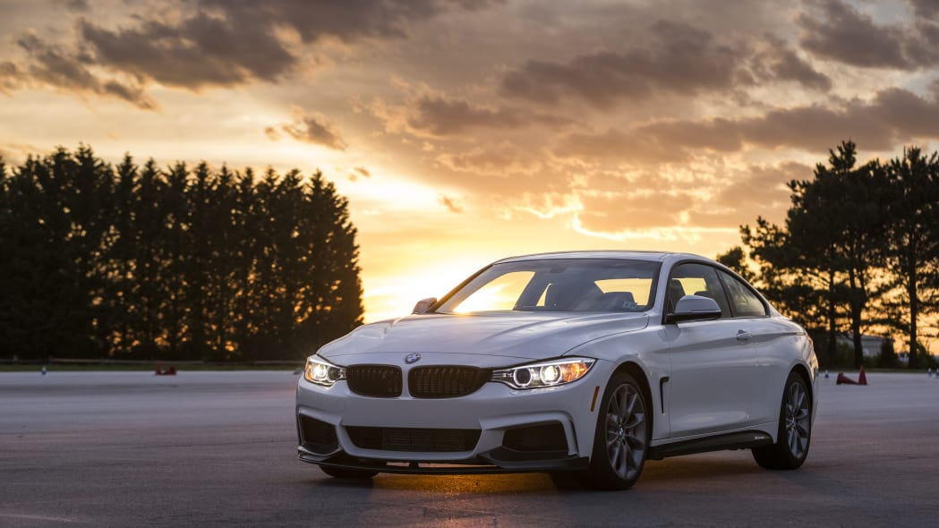 BMW 435i ZHP Edition Coupe front 3/4 sunset