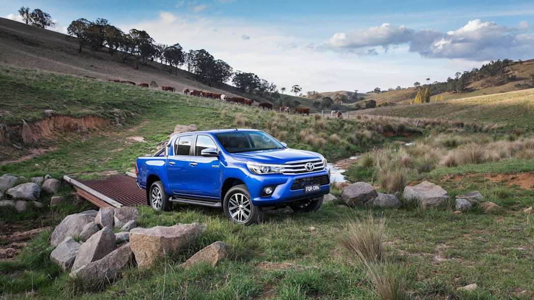 2016 Toyota HiLux pickup truck ranch