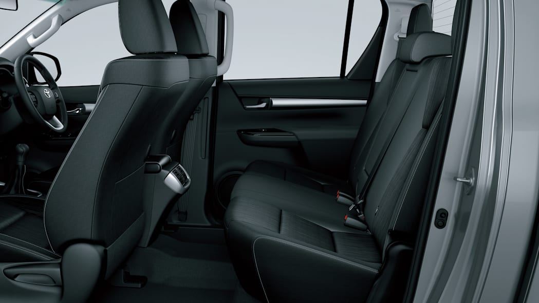Toyota HiLux interior rear seats