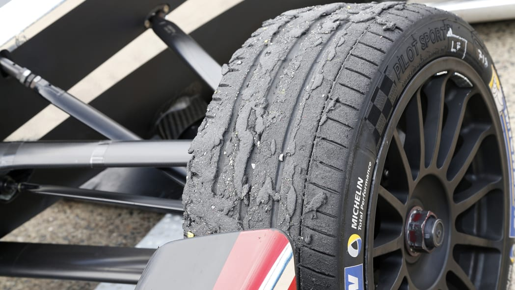 2015 FIA Formula E Berlin ePrix tire wear