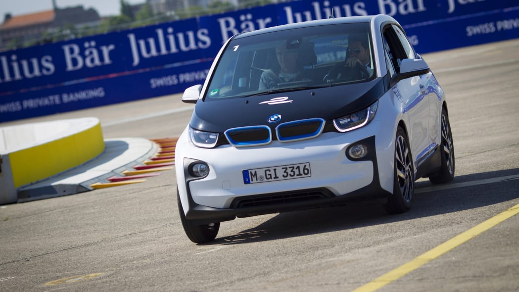 BMW i3 at 2015 FIA Formula E Berlin ePrix