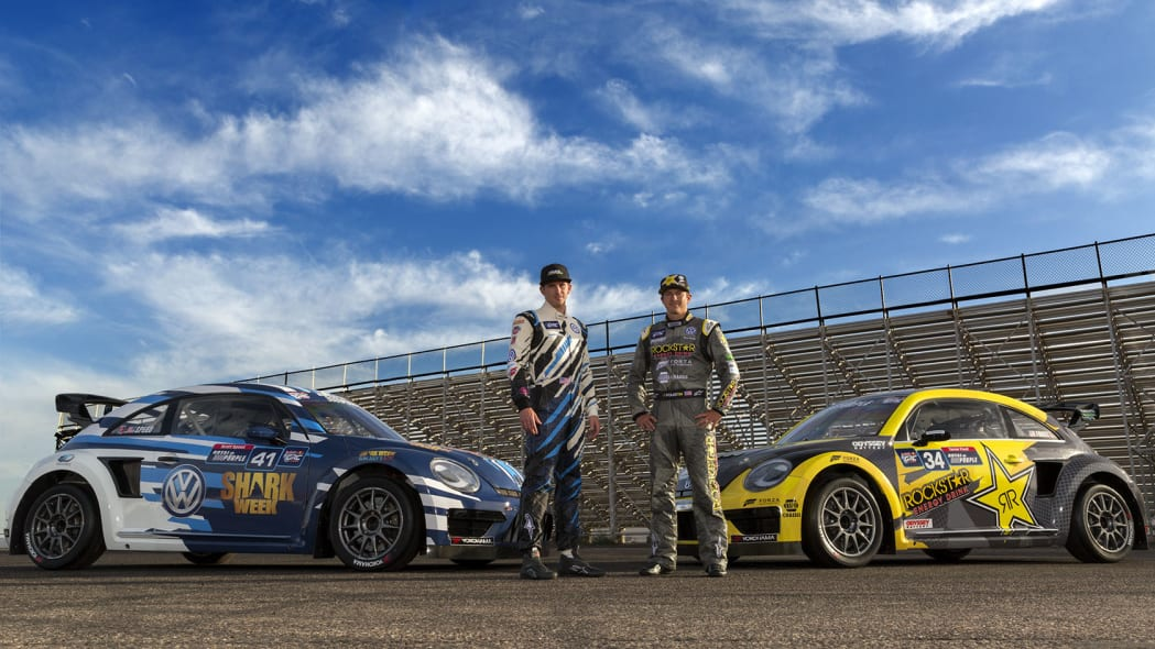 scott speed and tanner foust racing for volkswagen in the grc