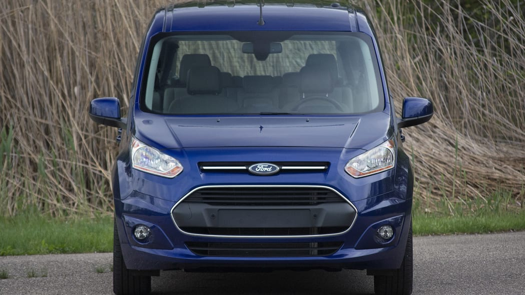 2015 Ford Transit Connect Wagon front view