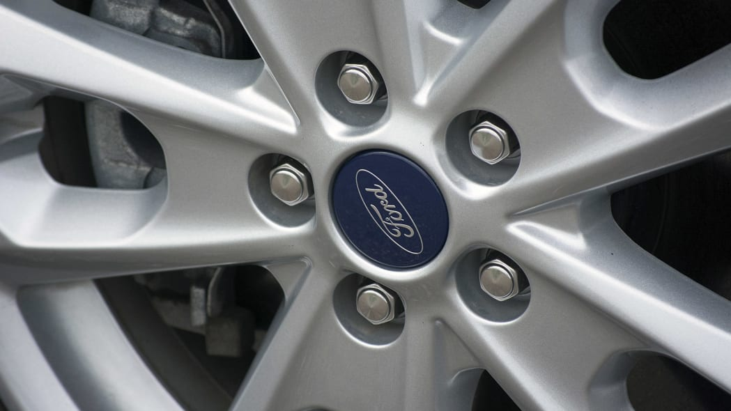 2015 Ford Transit Connect Wagon wheel detail