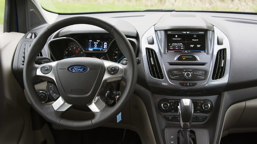 2015 Ford Transit Connect Wagon interior