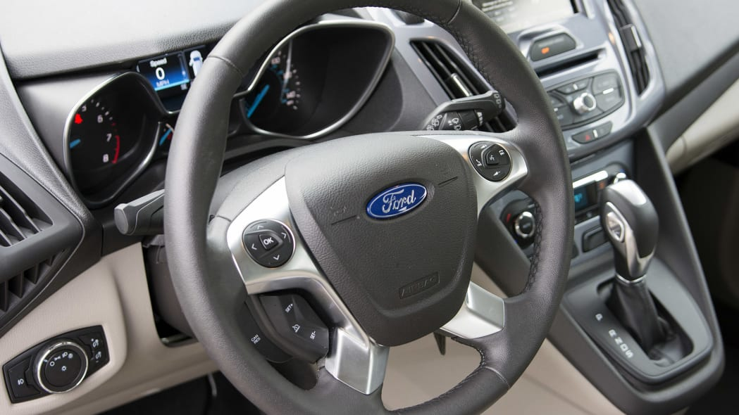 2015 Ford Transit Connect Wagon steering wheel