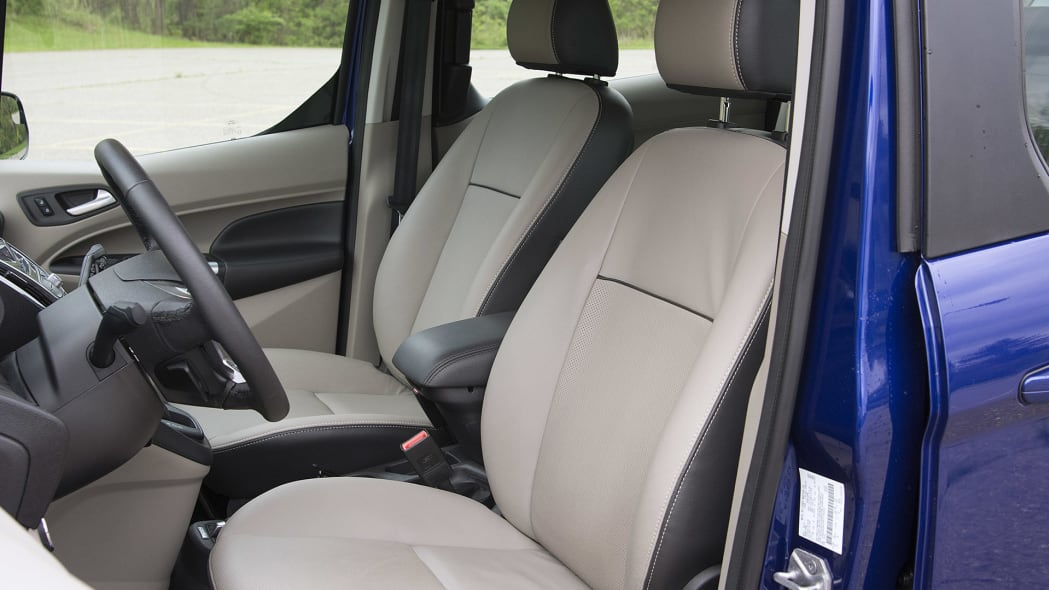 2015 Ford Transit Connect Wagon front seats