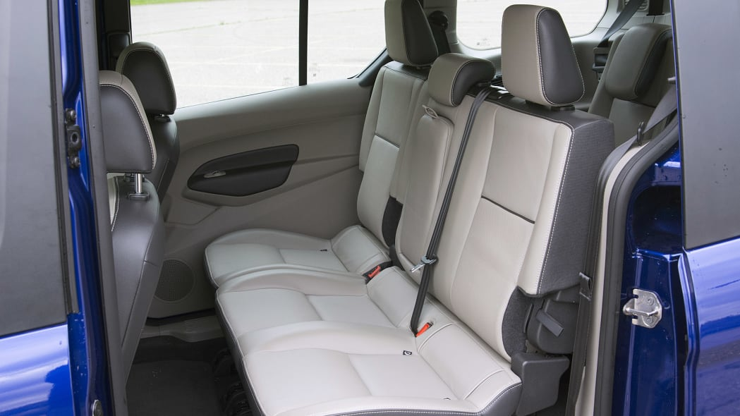 2015 Ford Transit Connect Wagon rear seats