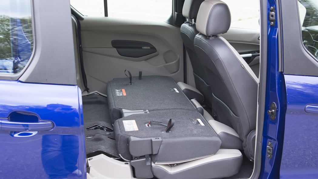 2015 Ford Transit Connect Wagon folded rear seats