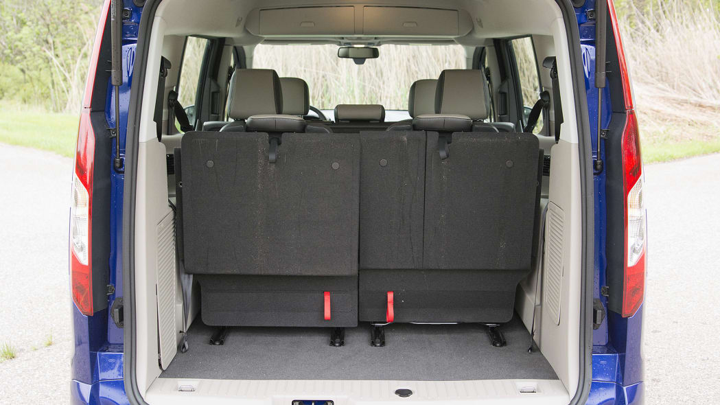 2015 Ford Transit Connect Wagon rear cargo area
