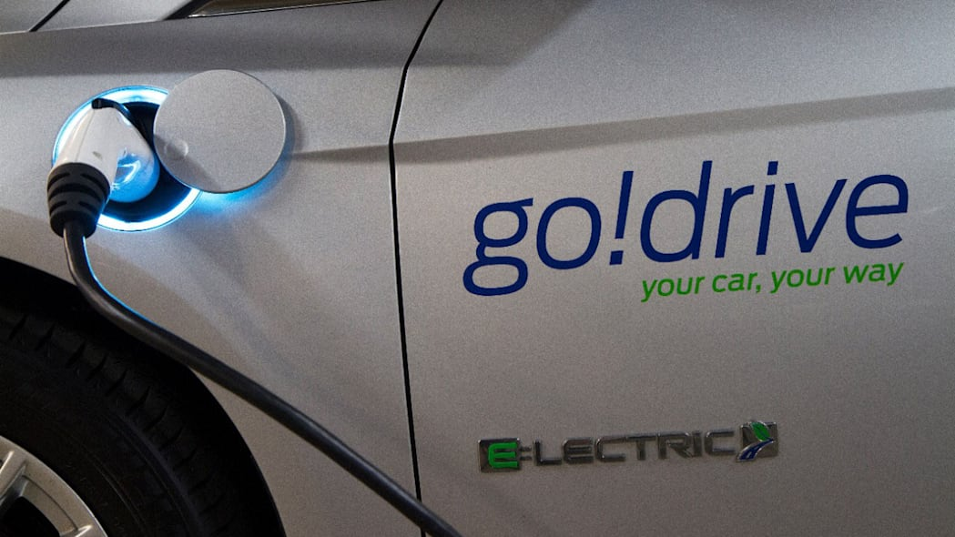 ford godrive carsharing in london focus electric
