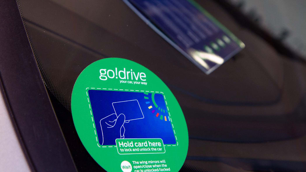 ford godrive carsharing in london activation