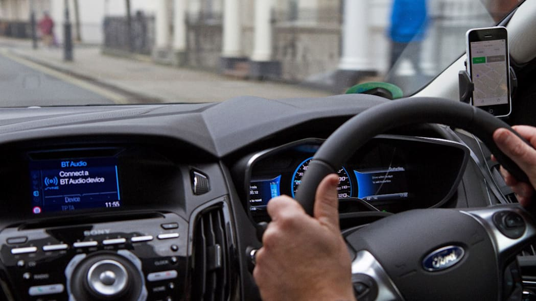 ford godrive carsharing in london driving
