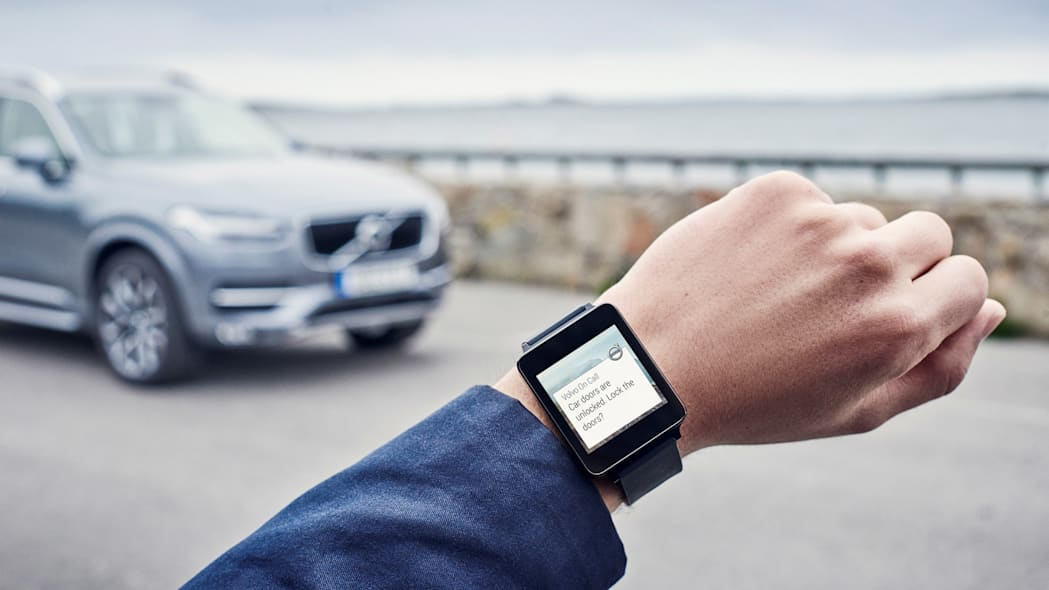 Volvo On Call for Android Wear