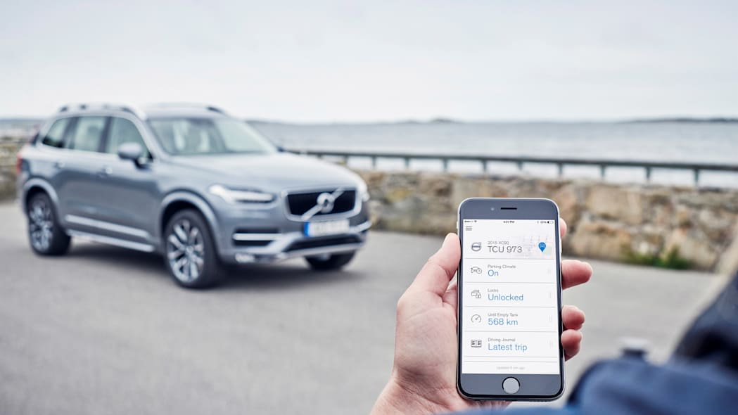 Volvo On Call for iPhone iOS