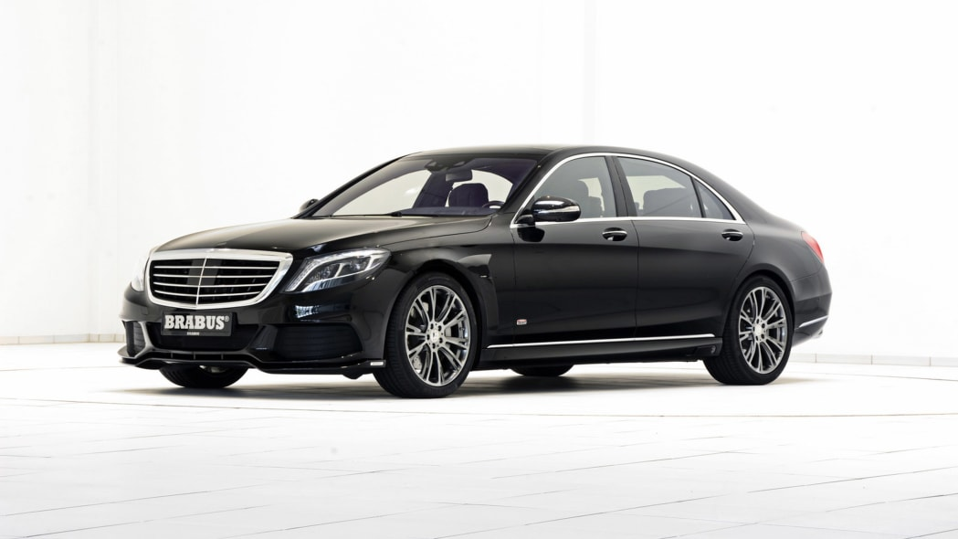 Brabus Mercedes-Benz S550 PowerXtra B50 Hybrid front 3/4