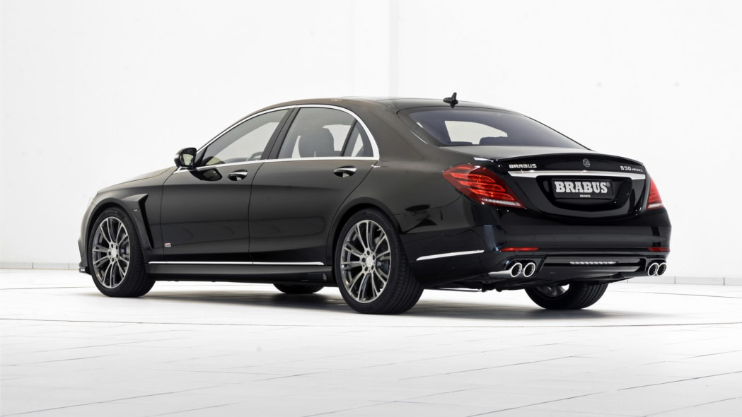 Brabus Mercedes-Benz S500 PowerXtra B50 Hybrid rear 3/4
