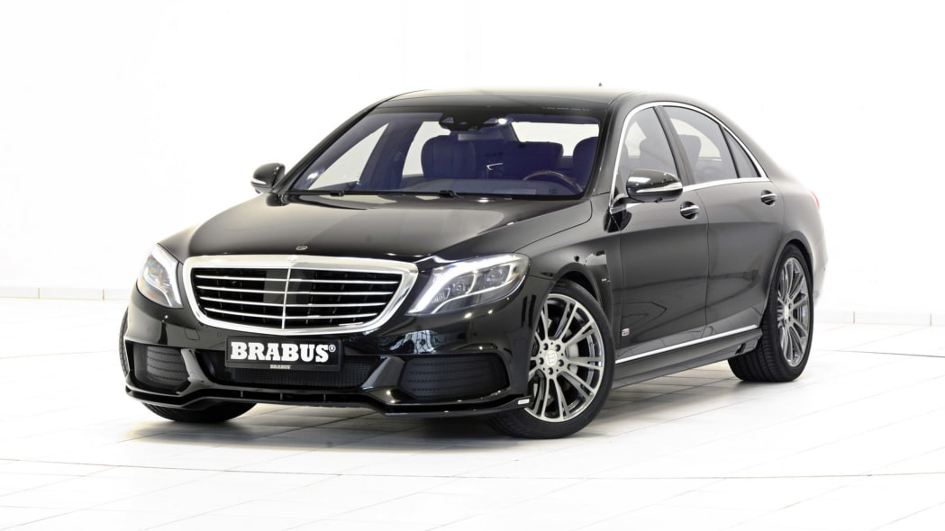 Brabus Mercedes-Benz S500 PowerXtra B50 Hybrid front 3/4