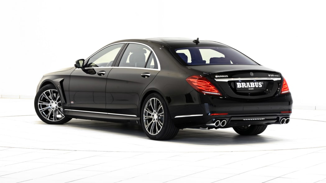 Brabus Mercedes-Benz S550 PowerXtra B50 Hybrid rear 3/4