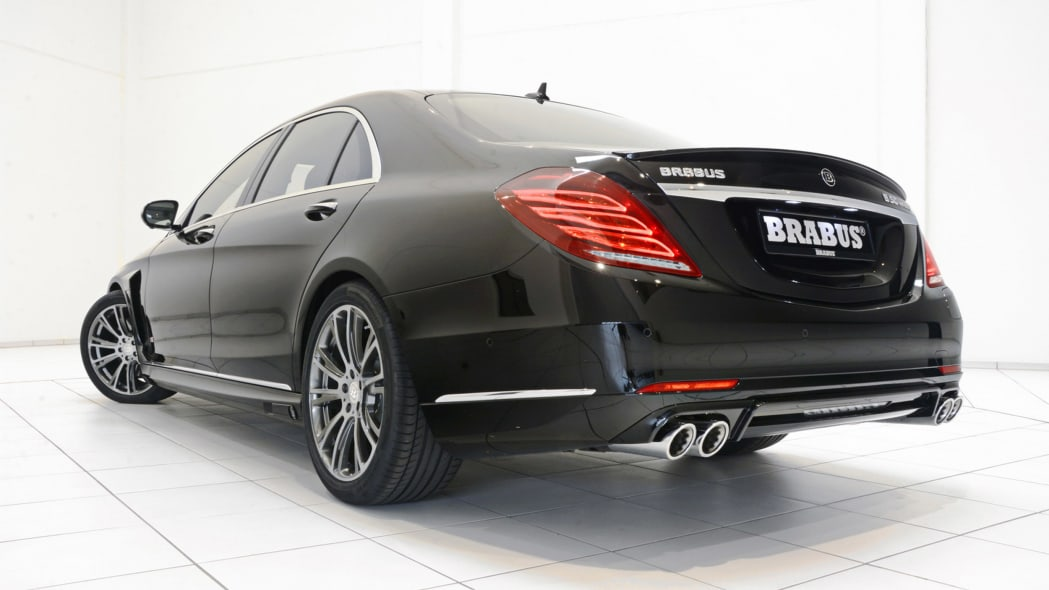 Brabus Mercedes PowerXtra B50 Hybrid rear 3/4