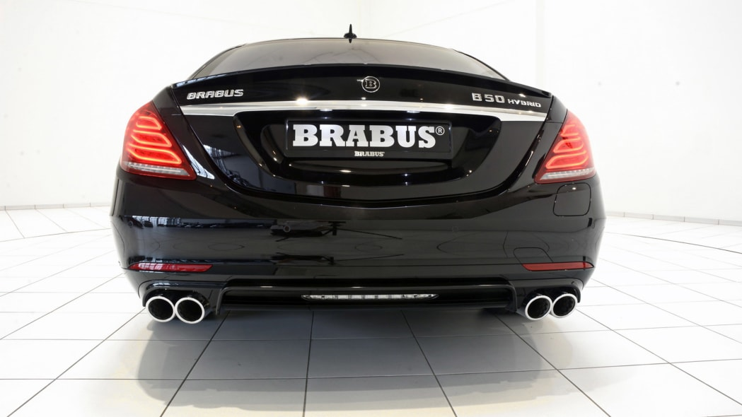 Brabus Mercedes PowerXtra B50 Hybrid rear