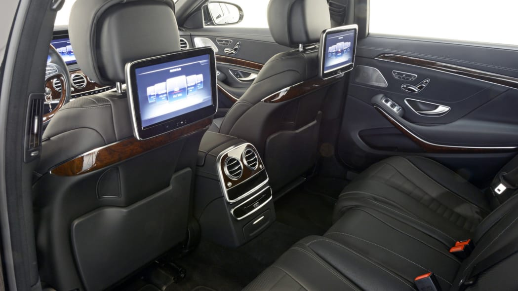 Brabus PowerXtra B50 Hybrid interior rear seats