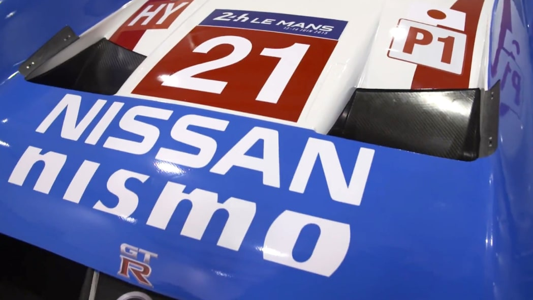 Nissan GT-R LM Nismo livery