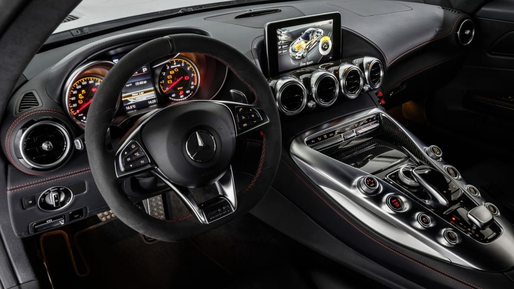 Mercedes-AMG GT DTM Safety Car interior dashboard