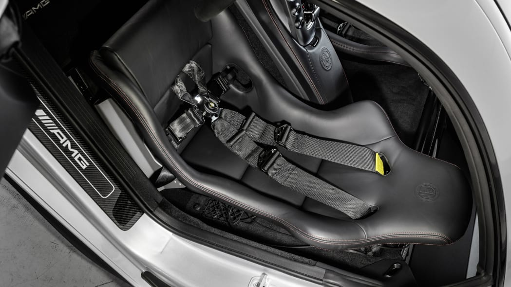 Mercedes-AMG GT DTM Safety Car interior seats