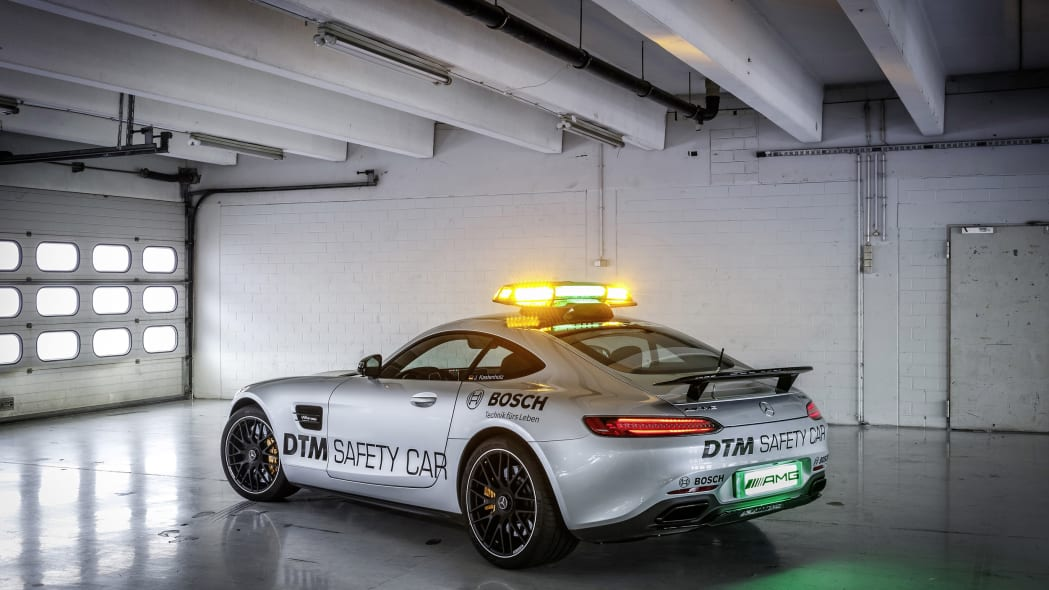 Mercedes-AMG GT DTM Safety Car garage rear