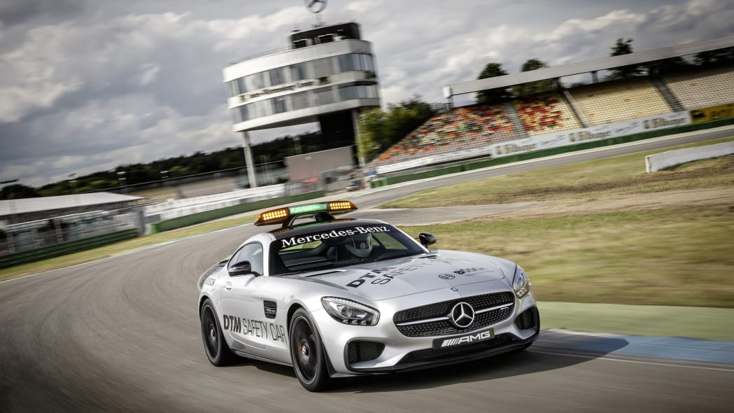 Mercedes-AMG GT Safety Car track front 3/4