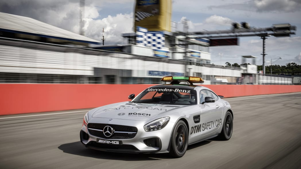 Mercedes-AMG GT S DTM Safety Car track front 3/4