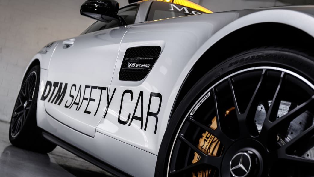 Mercedes-AMG GT DTM Safety Car garage side detail